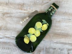 Light Blue Green Wine Bottle Molded Serving Tray Spoon Rest Cork Recycled Eco-Friendly Melted Wine Bottle Foodie gift Wine gift under 25 Recycled Wine Bottles, Recycled Glass, Melted Wine Bottles, Chianti Wine, Cheese Spreaders, Italian Wine, Wine Gifts, Safe Food, Plates