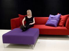 mid ottoman by forma - love!