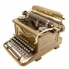 Add this Art Deco L. C. Smith Secretarial 8-11 Typewriter to your collection, or use it to write your next novel! This L. S Smith Secretarial 8-11 Typewriter was manufactured in 1934. It features geom