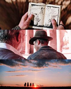 Indiana Jones and the Last Crusade: while Henry looked for illumination, Indiana looked for something that was always right in front of him but was always so far out of reach...until it reached back for him. Definitely my favorite Indiana Jones movie.