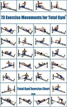total gym exercises printable  total gym incline