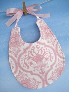Baby Bib Sewing Pattern Pretty Pieced Bib by preciouspatterns
