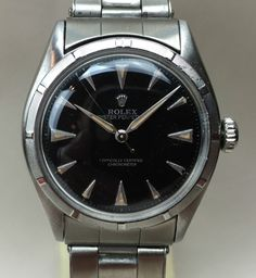 1950's Vintage Rolex Big Bubble Back Oyster Perpetual Ref. 6085 for sale