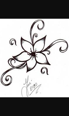 That's a nice flower do a tattoo.
