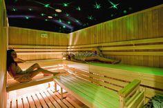 Oświetlenie Światłowodowe Sauny, Zestaw Kryształowe Gwiazdy
