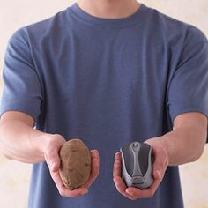 Baked Potato or Sweet Potato    1 serving = 1/2 cup    Choose a potato the size of a computer mouse.