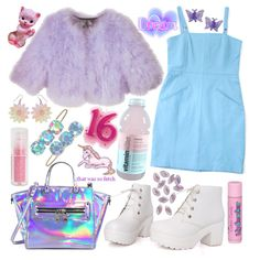 """Hologram Girl"" by lissydear on Polyvore"