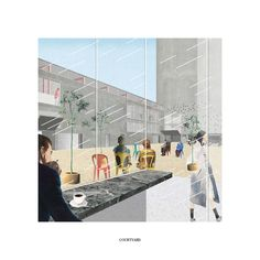 The Courtyard A Culture Palace (Next Helsinki) Erik Revellé & Hanieh Heidarabadi
