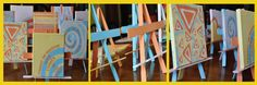 House of Shine Shineworks - Using wood paint stirrers to create easels to hole artwork messages of SHINE! Paint Stirrers, Easels, Painting On Wood, Projects To Try, Messages, Crafty, Creative, Artwork, How To Make