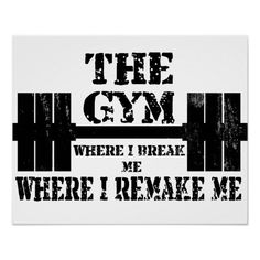 Gym Motivation Poster