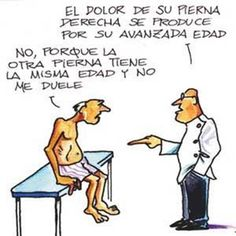 humor grafico cosas de medicos