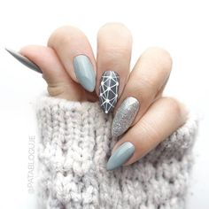 """If you're unfamiliar with nail trends and you hear the words """"coffin nails,"""" what comes to mind? It's not nails with coffins drawn on them. It's long nails with a square tip, and the look has. Acrylic Nail Designs, Nail Art Designs, Nails Design, Acrylic Gel, Acrylic Nails Almond Matte, Fall Almond Nails, Gel Nail Art, Nail Polish, Nail Nail"""