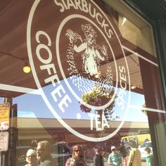 The first Starbucks on Pike Place in Seattle