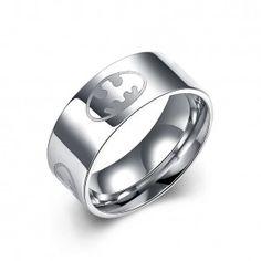 TGR007-Un anillo de acero de titanio Moda