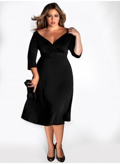Francesca Dress in Black