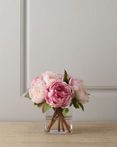 Faux pink peonies.jpg Faux Plants That Will Fool Your Eyes   Faux Sure!