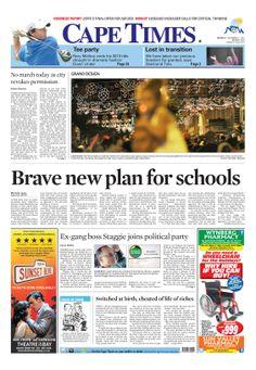 News making headlines: Brave new plan for schools