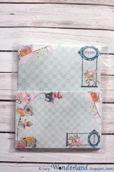 Wonderland: the CIRCUS has arrived  (#gift, #packaging, #envelopes, #diy, #handmade, #homemade, #envelope, #paperbag, #bag, #busta, #lettera, #pacco, #regalo, #Circus, #clown, #circo, #pagliaccio, #vintage, #ephemera, #kawaii, #cute)$9.95