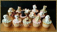 Cupcakes tema pet shop  cachorrinhos