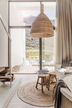 〚 Stylish Casa Cook hotel in Rhodes, Greece 〛 ◾ Photos ◾Ideas◾ Design Interior Design Blogs, Interior Design Minimalist, Bathroom Interior Design, Home Interior, Interior Design Inspiration, Interior And Exterior, Natural Interior, Inspiration Boards, Design Bedroom