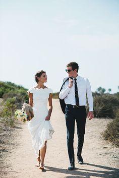 More simple, more exquisite. A nova tendência dos vestidos de noiva.