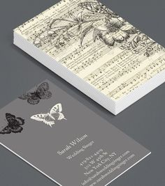 While i havent the slightest idea for what these cards are for i wedding singer business card design reheart Gallery