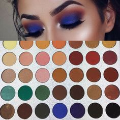 Jaclyn Hill Morphe Palette at HALF the price for the same quality Makeup Goals, Makeup Inspo, Makeup Inspiration, Makeup Ideas, Flawless Makeup, Skin Makeup, Eyeshadow Makeup, Jacklyn Hill Palette Looks, Jaclyn Hill Palette