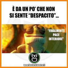 Cos'è che non si sente da un po'? #bastardidentro #perfettamentebastardidentro #despacito www.bastardidentro.it