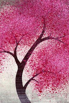beautiful pink tree - Google Search