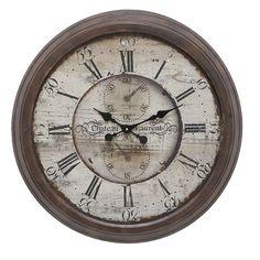 "Oversized 28"" Boylston Wall Clock"