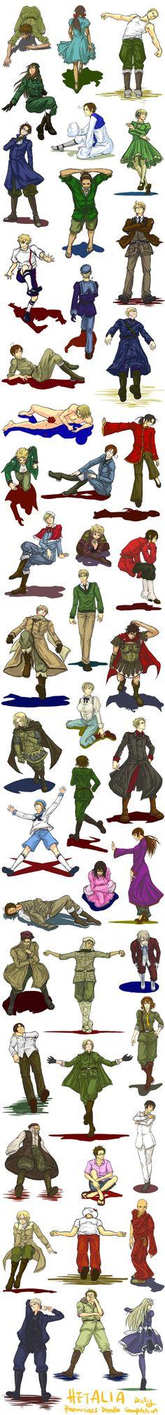 Hetalia (ヘタリア) >>>>>> their positions are weird af Animes On, Spamano, Hetalia Axis Powers, Kaichou Wa Maid Sama, Me Me Me Anime, Fandoms, People, Earth, My Favorite Things