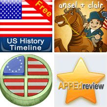 Blast From the Past: The American Revolution - App Lesson - http://appedreview.com/app/blast-from-the-past-the-american-revolution-app-lesson/