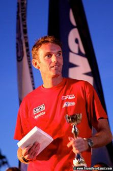 David Chassier 3rd place Caval'eau Jet