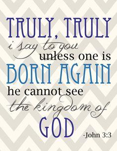 Reborn again christian