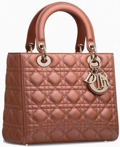 Brilliant Luxury * Lady Dior Quartz Pearlised Lambskin Fall 2014