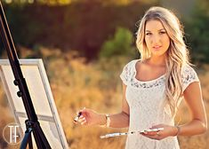 Senior pictures with paint | Senior Pictures With Paint 2014 senior brittany