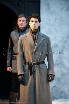 Oregon Shakespeare Festival. HENRY V (2012): Shayne Hanson, Raffi Barsoumian. Photo: Jenny Graham.