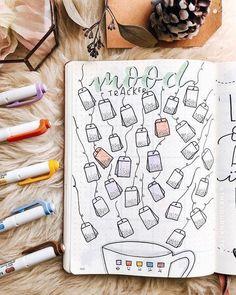 Unique Bullet Journal Mood Tracker Ideas To Help You Einzigartige Bullet Journal Mood Tracker-Ideen, um Sie geistig ausgerüstet zu halten – Diyideasdecoration.club unique bullet journal mood tracker ideas to keep you mentally equipped - Bullet Journal Tracker, Bullet Journal Doodles, Bullet Journal 2019, Bullet Journal Notebook, Bullet Journal Spread, Bullet Journal Layout, Bullet Journal Ideas Pages, Bullet Journal Inspiration, Bullet Journal Year In Pixels