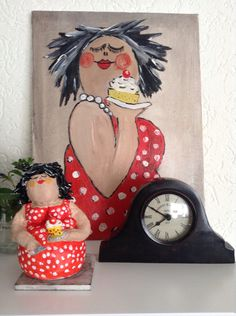 Kunst Bilder ideen - My first cake today Art Photography Women, Cakes Today, Acrylic Painting Tutorials, Girl Humor, Big And Beautiful, Doodle Art, Art Dolls, Decoration, Abstract