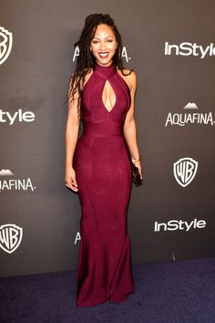 Meagan Good Photos Photos - Actress Meagan Good attends InStyle and Warner Bros. 73rd Annual Golden Globe Awards Post-Party at The Beverly Hilton Hotel on January 10, 2016 in Beverly Hills, California. - 2016 InStyle and Warner Bros. 73rd Annual Golden Globe Awards Post-Party - Arrivals