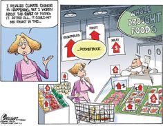Monitor Political Cartoons - #ClimateChange