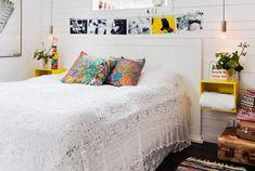 Letar du en sänggavel i lantlig stil? Varför inte snickra en själv efter vår ritning – den här sänggaveln är lättbyggd!
