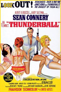 """Thunderball"", (1965) The poster."