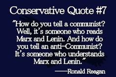 Ronald Reagan.....