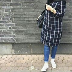23 ideas fashion hijab style muslim women for 2019 Modern Hijab Fashion, Muslim Women Fashion, Islamic Fashion, Hijab Outfit, Mode Kimono, Hijab Stile, Hijab Chic, Mode Style, Fashion Outfits