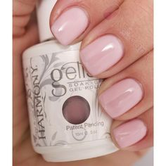 nail polish Pink smoothie gelish nail polish Like new. Not dry. You do need a UV light or LED light also the base and top coat for this nail polish. Gelish Nail Colours, Gel Polish Colors, Shellac Nails, Gel Nail Polish, Pink Gel Nails, Pink Polish, Love Nails, How To Do Nails, Pretty Nails