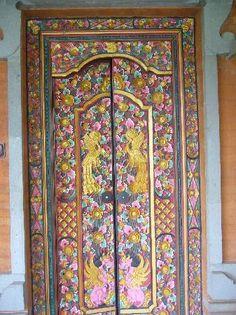 balinese door & Image detail for -Bali: Balinese Doors -- Handcarved traditional ... Pezcame.Com