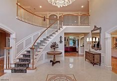ultimate farmhouse staircase decor ideas and design 83 Banisters, New Construction, New Homes, Stairs, Staircase Ideas, Farmhouse, House Design, Staircases, Baths