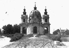 A Kálvária kápolna Forrás: Fődi Gábor / Fortepan Hungary, Barcelona Cathedral, Notre Dame, Building, Places, Travel, Viajes, Buildings, Destinations