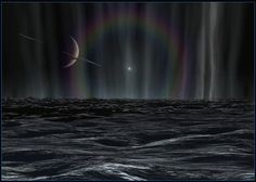 For the first time ever, waves were found elsewhere in the universe on Saturn's moon, Titan.